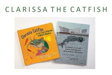 book covers clarissa catfish