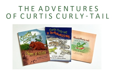book covers curtis curly-tail