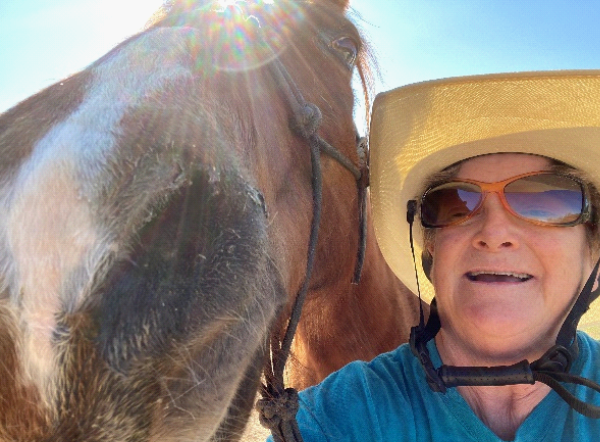 How Do You Take a Selfie with a Horse?