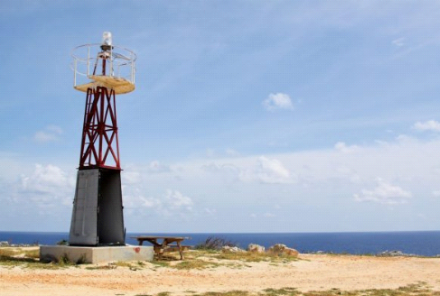 a photo of the lighthouse on Cayman Brac