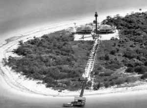 1941 photo of Sanibel Island lighthouse