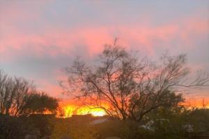 photo of sunrise in tucson az